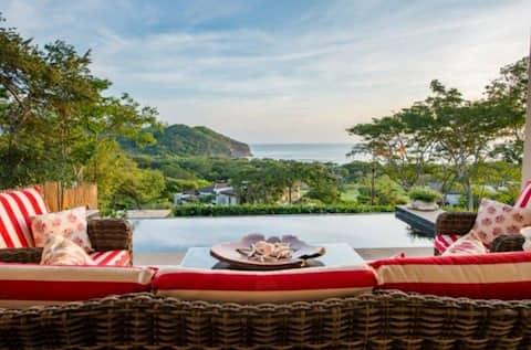 Ocean View Villa Cabana, Guacalito de la Isla