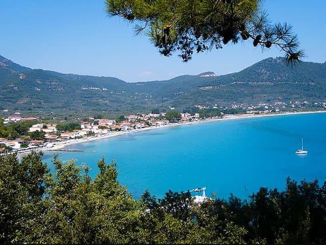 Chrysi Ammoudia Apt. 1 - Golden Beach, Thassos