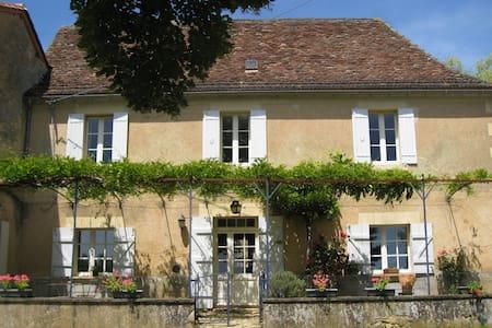 Maison de charme en Périgord vert - Saint-Félix-de-Villadeix - Rumah