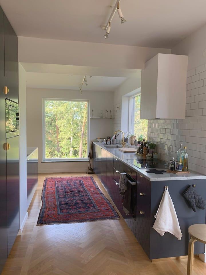 Familjevänlig villa nära Stockholm (Lidingö)