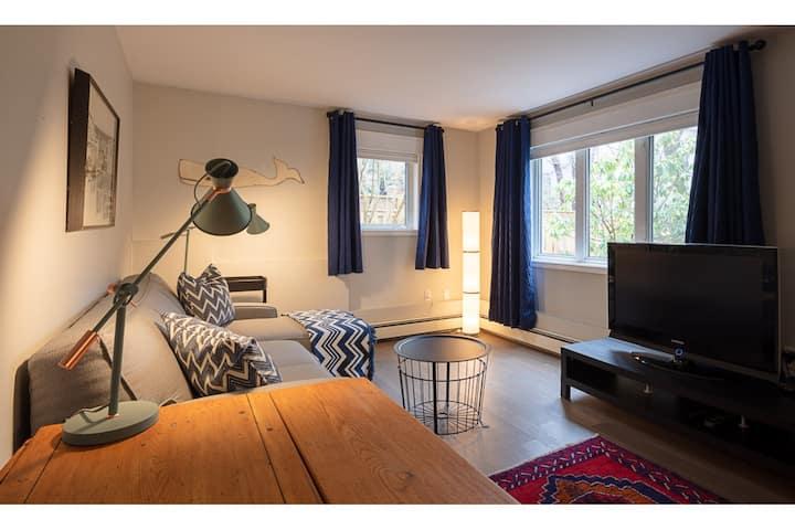 Executive style apartment