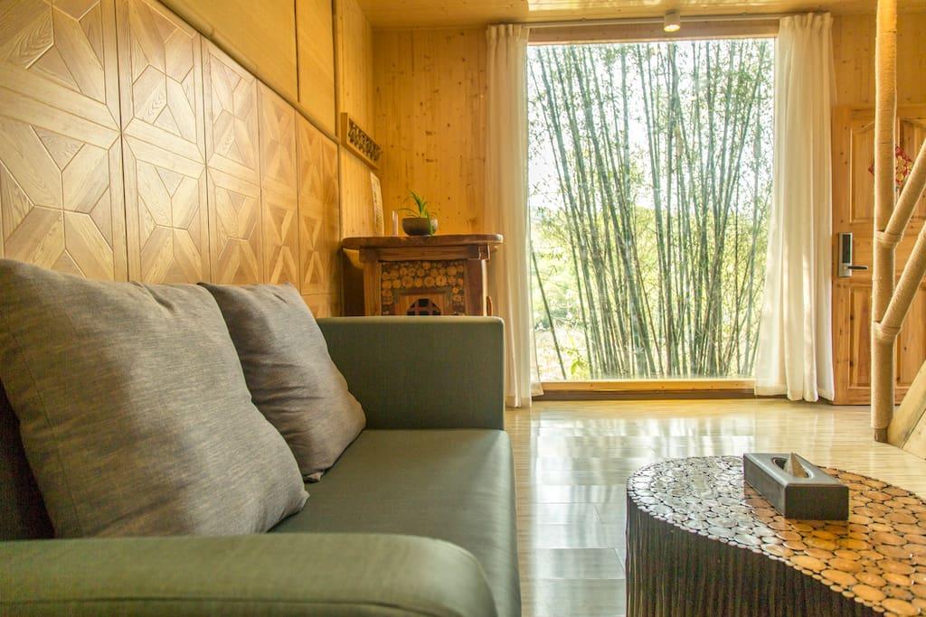 Chalet 1/ Living room