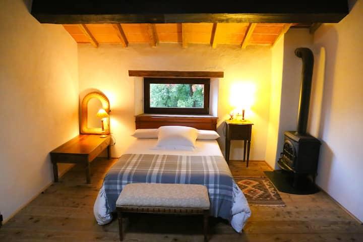 Double room in Terra Delle Sidhe, Seggiano-Tuscany