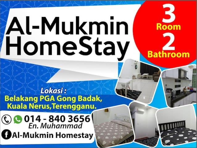 Al-Mukmin Homestay at Kuala Terengganu.