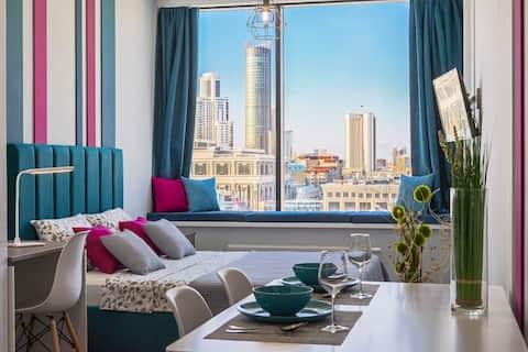 Шикарные апартаменты  с панорамным видом на город!
