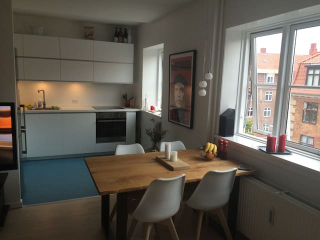 Cozy room in Østerbro close to park and beach - København - Flat