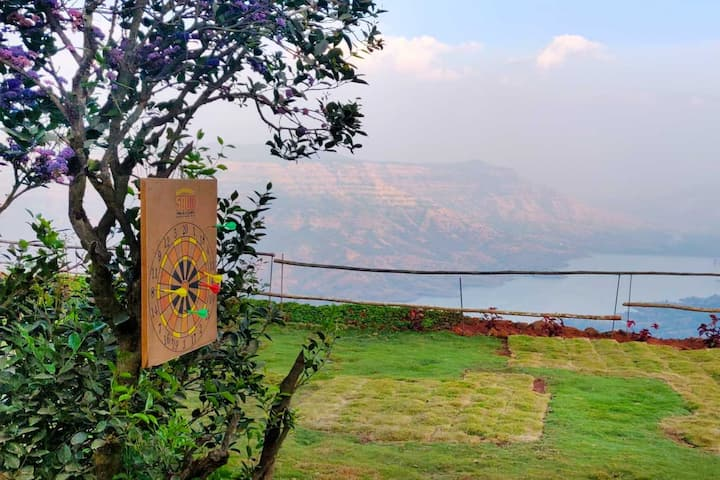 Large Tent for Couple in Mahabaleshwar Forest