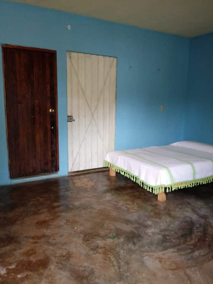 Center of Yoga offers you a simple bedroom