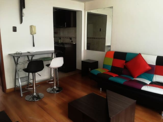 Atractivo y ubicado apartamento en Chapinero
