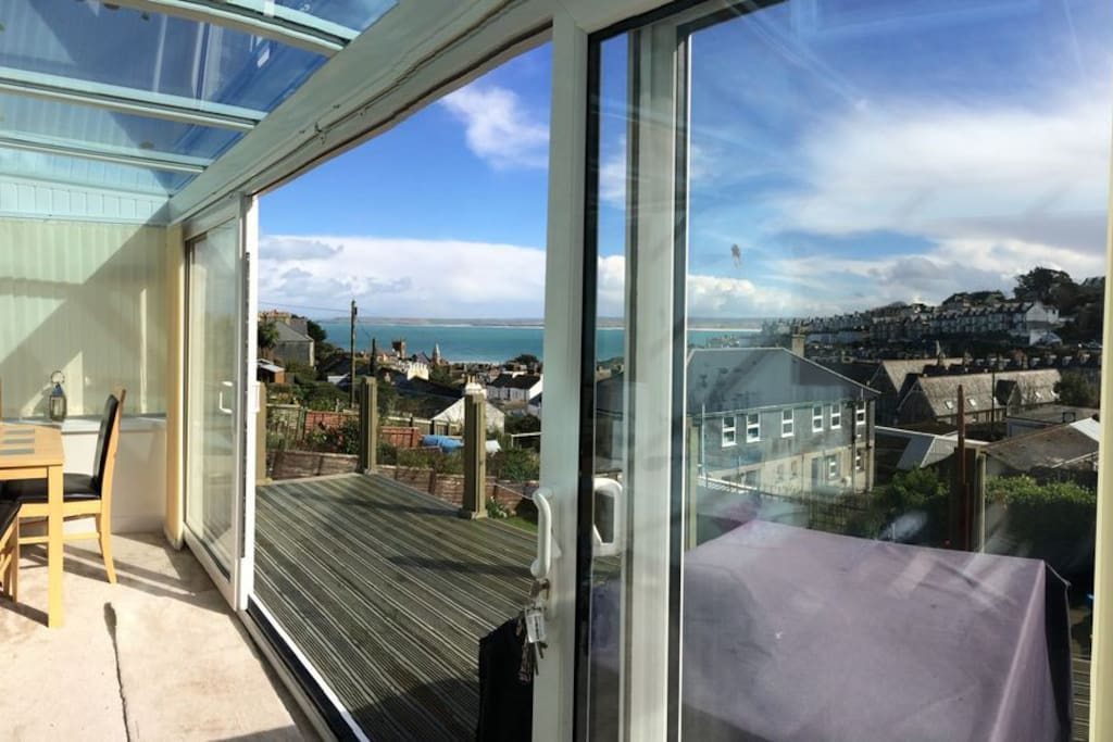 Sliding doors - what a view!