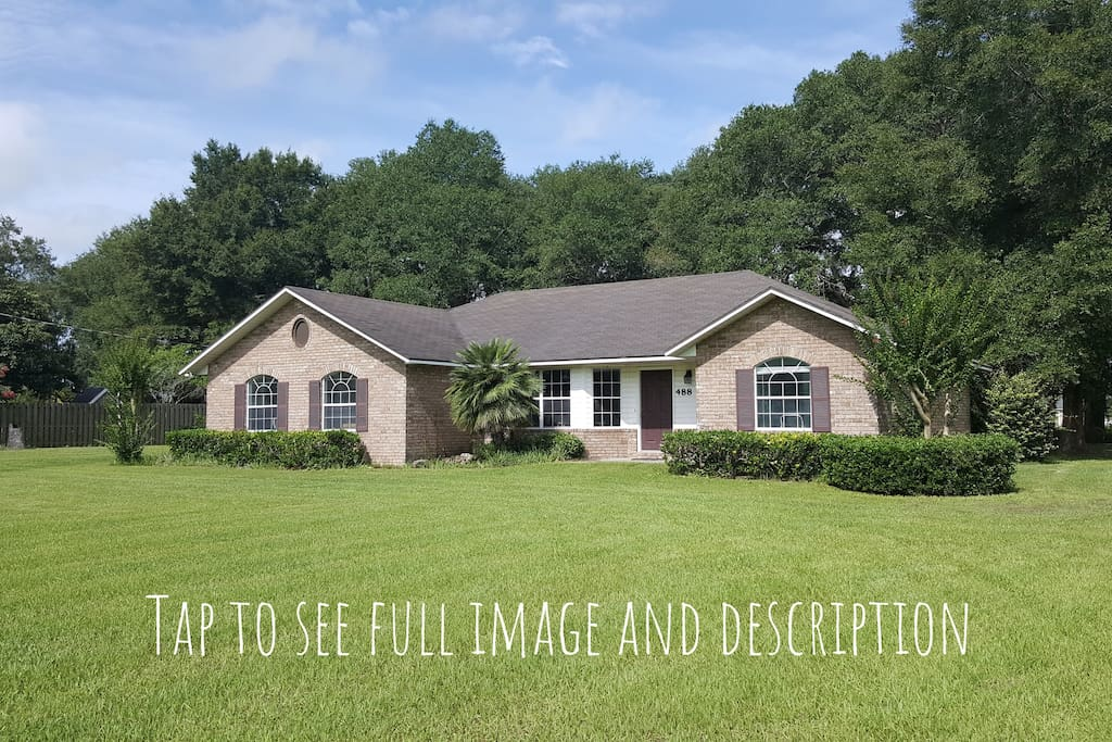 Swipe left for more! 2000 square-foot home on 1.25 acres