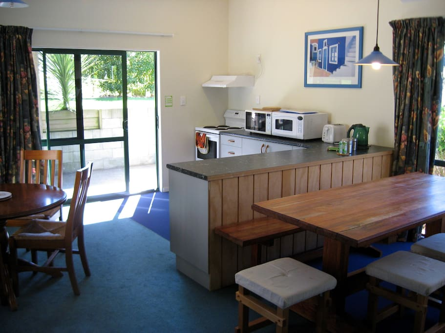 Guest kitchen area