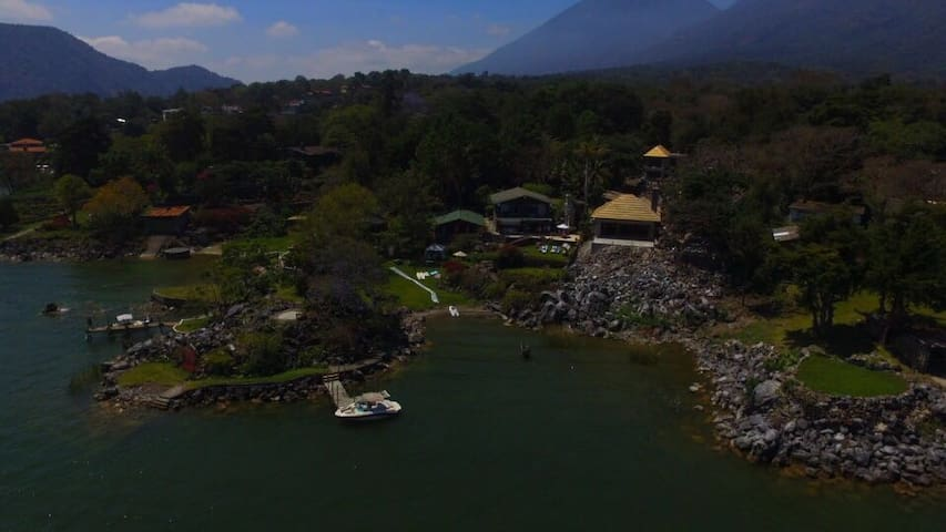 Beautiful Chalet in Lake Atitlan! - San Lucas Tolimán - Chalet
