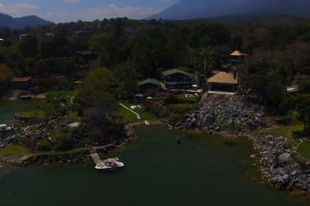Beautiful Chalet in Lake Atitlan! - San Lucas Tolimán - กระท่อมบนภูเขา
