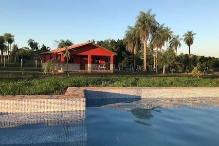 Bungalow 1 Schlafzimmer, Zugang zu Pool & Quincho