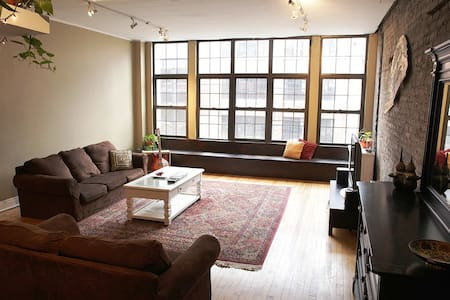 Spacious Downtown Chicago Loft - Chicago - Loft