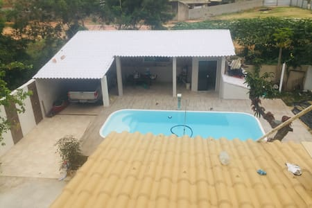 Casa completa c/ piscina, área gourmet e  garagem