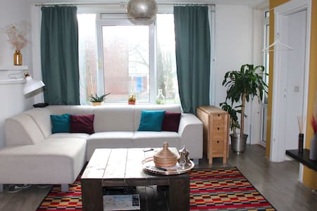 Lovely 3 room apartment in Amsterdam Old West - Amsterdam - Huoneisto