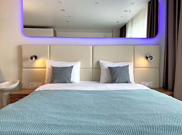 Двухместный номер с 1 кроватью в Апарт Митино
