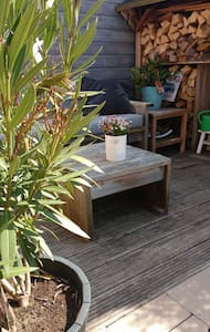Moderne & komfortable Ferienwohnung - Noordwijk - Cabaña