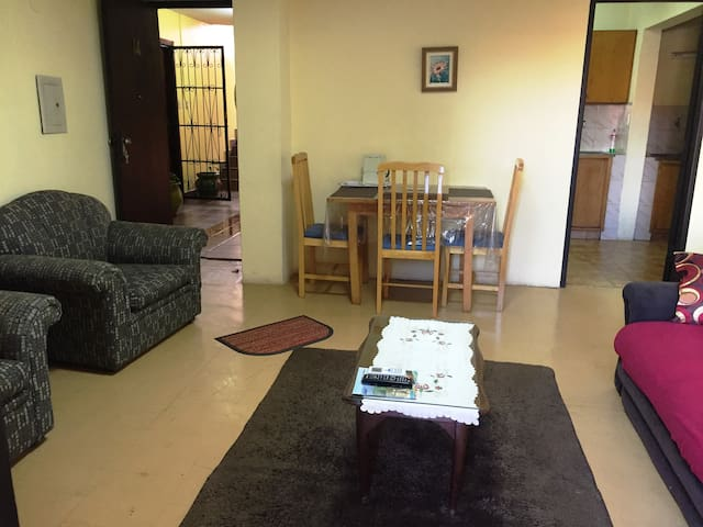 Sunny and convenient apartment near downtown CDE