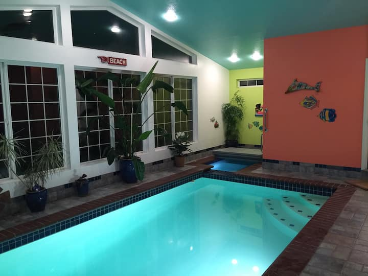 Indoor Pool - Landscaped Gardens - Good 4 Families