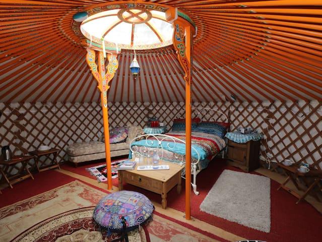 Onehams Yurt Village Orange.