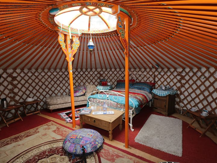 Onehams Yurt Village Orange.