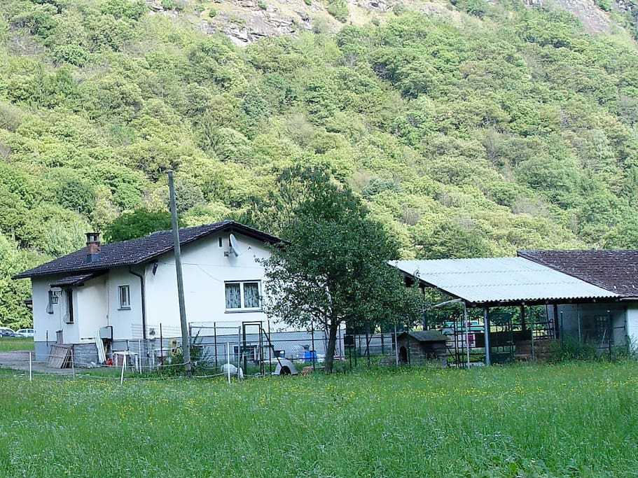 Haus + Pferdestall