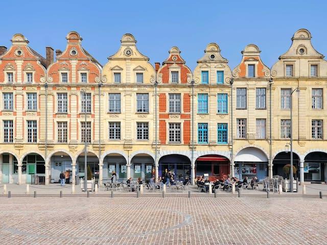COEUR D'ARRAS BEFFROI CATHEDRALE - Arras - Appartement