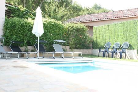 Confortable maison avec piscine privée - Saint-Jean-de-Maruéjols-et-Avéjan - 独立屋