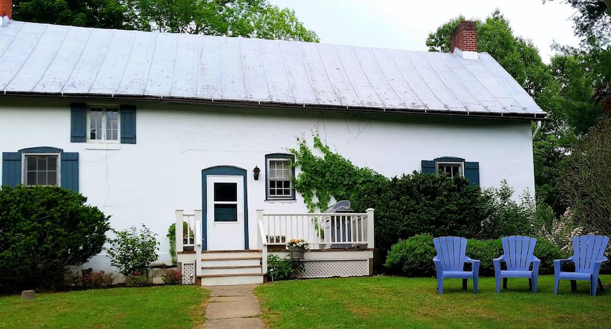 1786 Hudson Valley Farmhouse - เรดฮุค