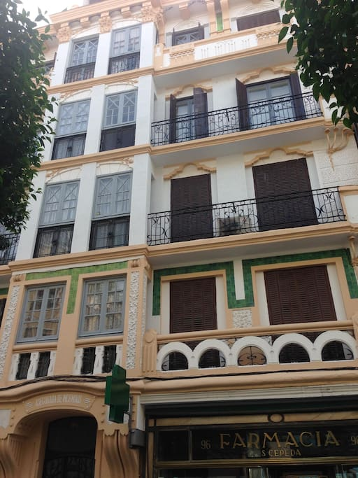 Art- deco style building