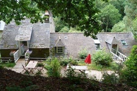 Le Moulin de kérangoc : Le Grenier à Céréales