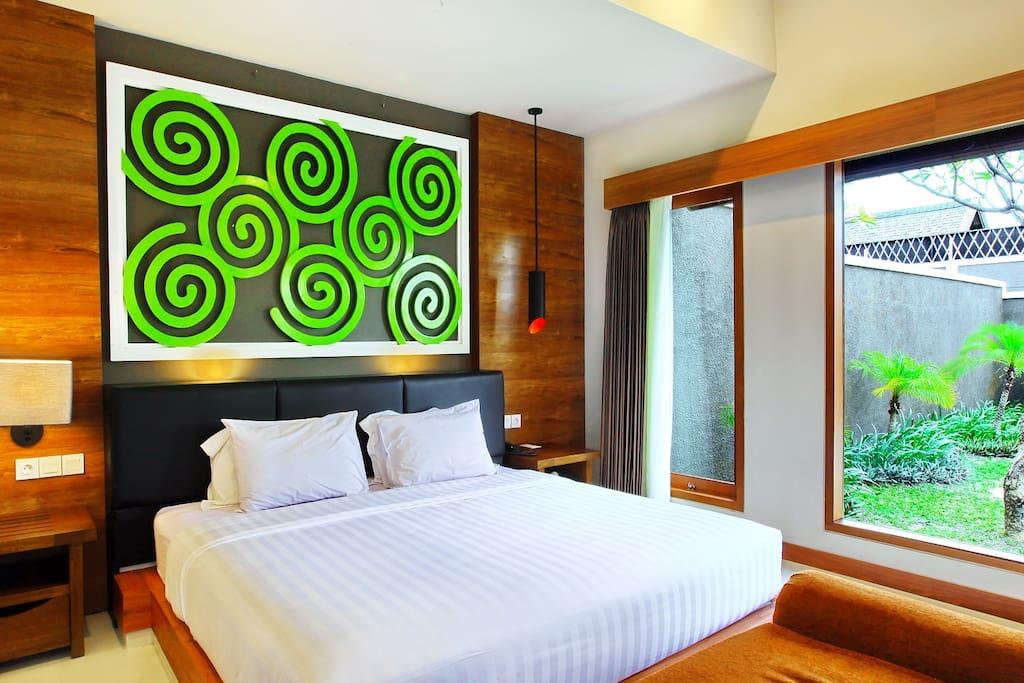 Guest bedroom 1 Bedroom Suite Villa