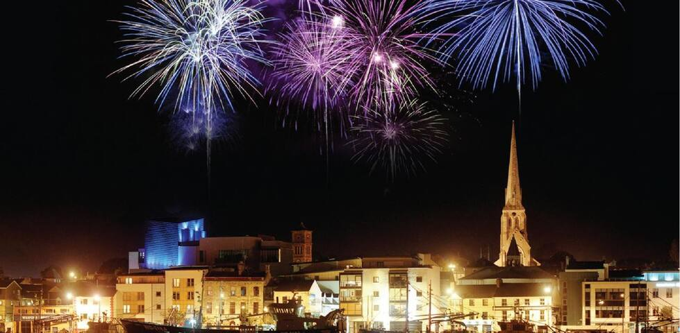 Annual  Fireworks for Opera Festival in Wexford town in October