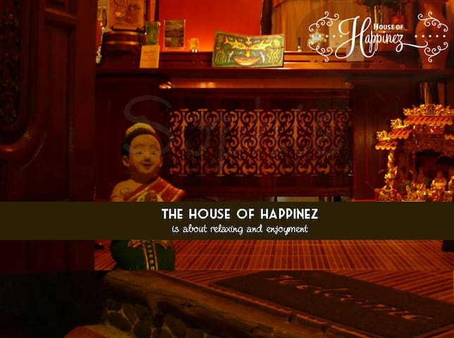 The House of Happinez: A cozy ambience (Room4) - Ranong - Boutique hotel
