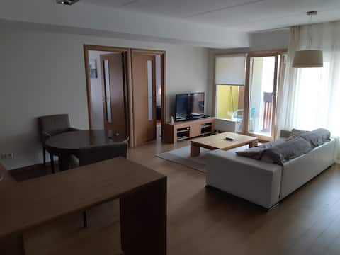 Nice spacious flat near Tallinn close to the sea