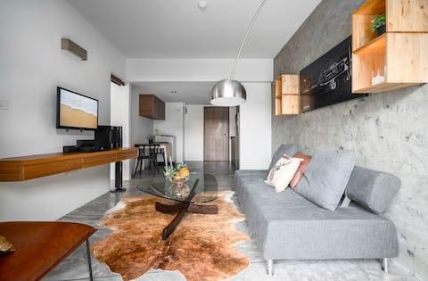 Stylish apartment: Loft vibes