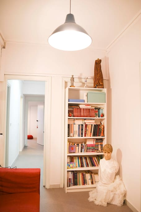 Living Room / Library / Hall
