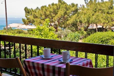 Beautiful apartment next to the sea - Agios Dimitrios - Wohnung