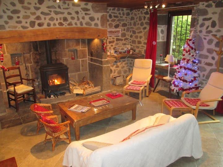 Gîte de charme 4* Vic-sur-Cère -Station ski Lioran