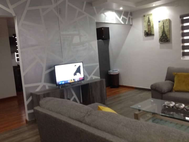 Beautiful apartment with view to Rosarito beach!