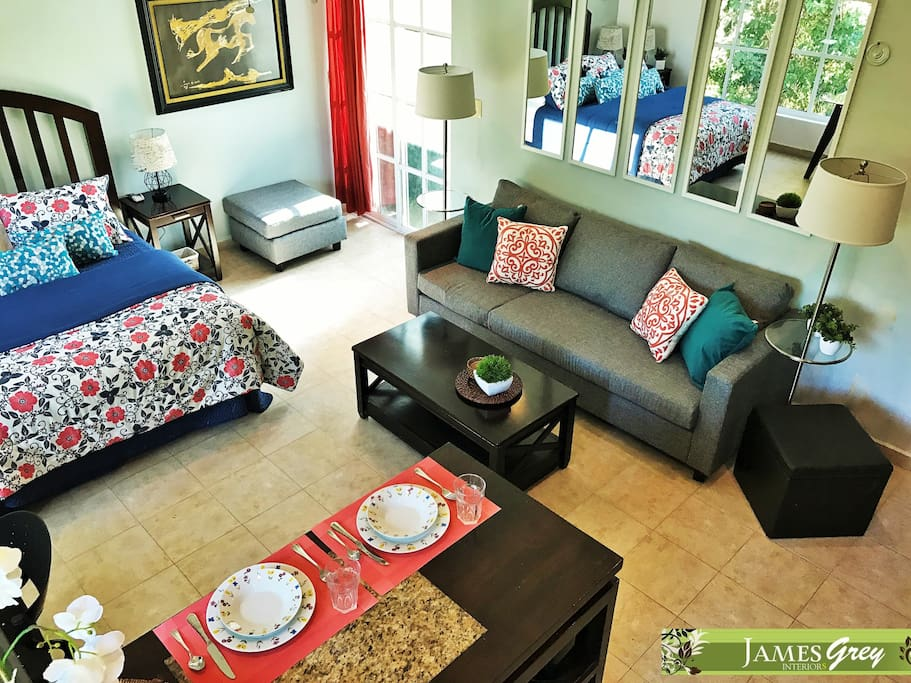 Special price treetop penthouse with pool guest for Actual studio muebles playa del carmen