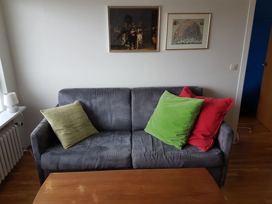 Bedsofa, pull-out