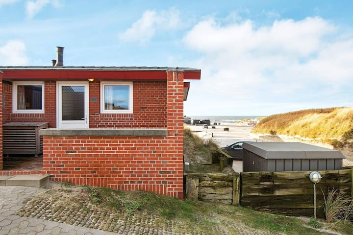 Spacious Holiday Home in Henne With Seaview