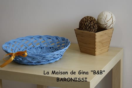 "FAMILY APT  - ""La Maison de Gina""  Bed & Breakfast - BARONISSI"