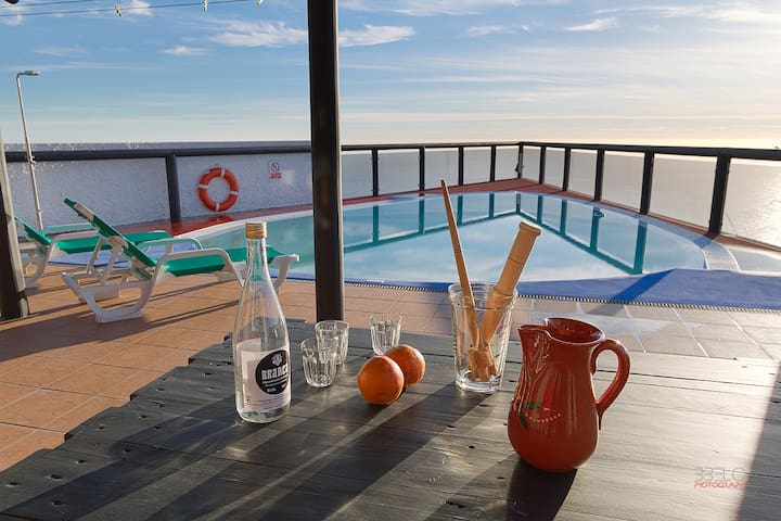 Angels Inn Paradise2. Amazing view. Swimming pool - Calheta - Apartment