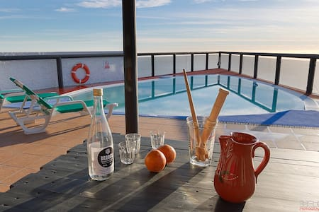 Angels Inn Paradise 2. Amazing view. Swimming pool - Calheta - Byt
