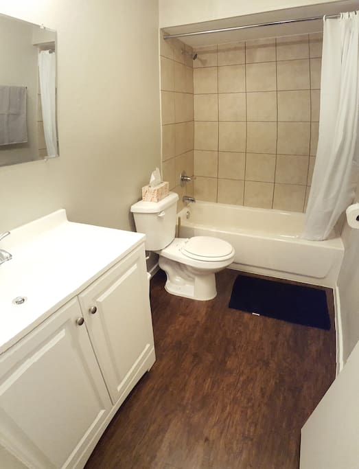 Bathroom: You will share it with other guests.